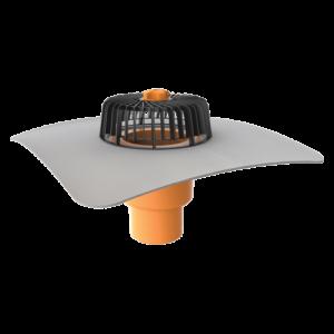 TOPWET - PVC-äärisega vertikaalne äravool