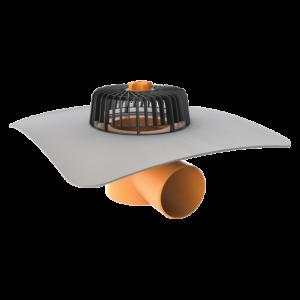 TOPWET - PVC-äärisega horisontaalne äravool