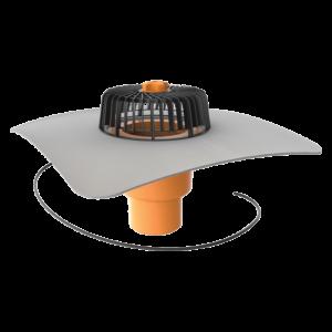 TOPWET - PVC-äärisega soojendusega vertikaalne äravool